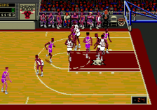 NBA Showdown '94 ingame screenshot