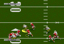 NFL Football '94 Starring Joe Montana ingame screenshot