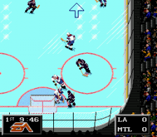 NHL '94 ingame screenshot