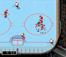 NHL 98 ingame screenshot