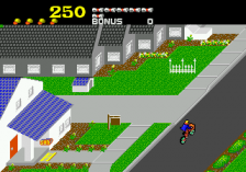 Paperboy ingame screenshot