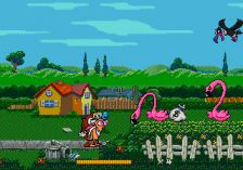 Ren & Stimpy Show Presents Stimpy's Invention, The ingame screenshot