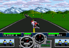 Road Rash ingame screenshot