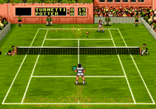 Sampras Tennis 96 ingame screenshot