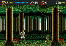 Shinobi III - Return of the Ninja Master ingame screenshot