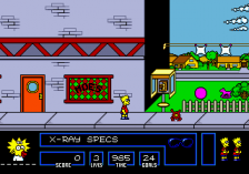 Simpsons, The - Bart vs. The Space Mutants ingame screenshot