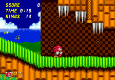 Sonic & Knuckles + Sonic The Hedgehog 2 ingame screenshot