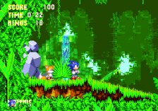 Sonic & Knuckles + Sonic The Hedgehog 3 ingame screenshot