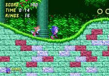Sonic The Hedgehog 2 ingame screenshot