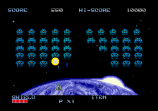 Space Invaders '91 ingame screenshot