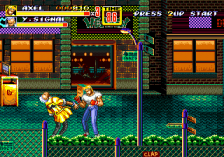 Streets of Rage 2 ingame screenshot