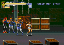 Streets of Rage 3 ingame screenshot