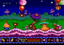ToeJam & Earl 2 : Panic on Funkotron ingame screenshot