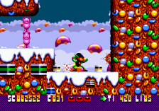 Zool - Ninja of the 'Nth' Dimension ingame screenshot