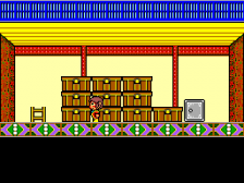 Alex Kidd - High-Tech World ingame screenshot