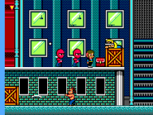 Alex Kidd in Shinobi World ingame screenshot