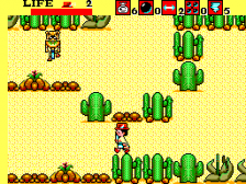Aztec Adventure - The Golden Road to Paradise ingame screenshot