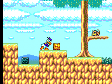 Deep Duck Trouble Starring Donald Duck ingame screenshot