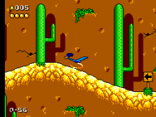 Desert Speedtrap Starring Road Runner and Wile E. Coyote ingame screenshot