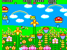 Fantasy Zone II - The Tears of Opa-Opa ingame screenshot