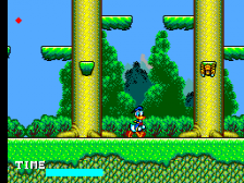 Lucky Dime Caper Starring Donald Duck, The ingame screenshot