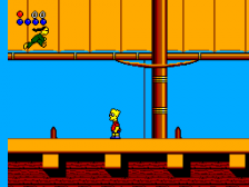 Simpsons, The - Bart vs. The World ingame screenshot