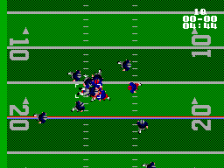 Walter Payton Football ingame screenshot