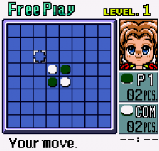 Pocket Reversi ingame screenshot
