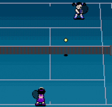 Pocket Tennis Color - Pocket Sports Series ingame screenshot