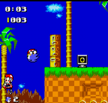 Sonic the Hedgehog Pocket Adventure ingame screenshot