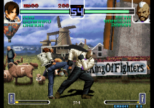 King of Fighters 2002 : Challenge to Ultimate Battle, The ingame screenshot