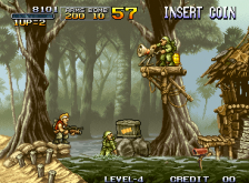 Metal Slug - Super Vehicle-001 ingame screenshot
