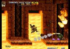 Metal Slug 5 ingame screenshot