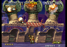 Metal Slug X : Super Vehicle-001 ingame screenshot