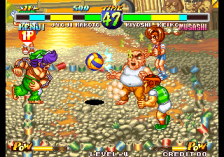 Super Dodge Ball ingame screenshot