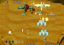 Aero Fighters 3 ingame screenshot