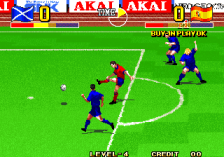 Super Sidekicks 4 - The Ultimate 11 SNK Football Championship ingame screenshot
