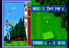 Top Player's Golf ingame screenshot