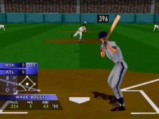 3D Baseball ingame screenshot
