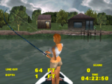 Big Bass Fishing ingame screenshot
