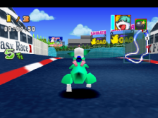 Bomberman Fantasy Race ingame screenshot