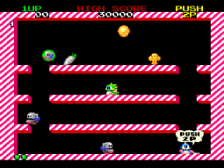 Bubble Bobble Also Featuring Rainbow Islands ingame screenshot