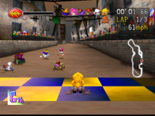 Chocobo Racing ingame screenshot