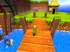 Croc 2 ingame screenshot