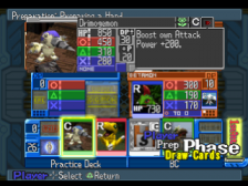 Digimon Digital Card Battle ingame screenshot