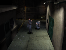 Dino Crisis ingame screenshot