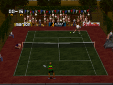 Tennis Arena ingame screenshot
