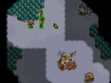 WarCraft II - The Dark Saga ingame screenshot