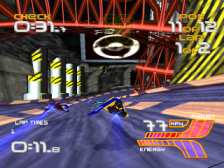 WipEout XL ingame screenshot