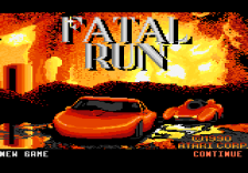 Fatal Run title screenshot